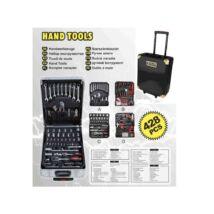Kraft KF/HT-1002 dugókulcs 428 részes szerszámkészlet kofferrel