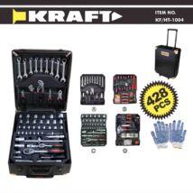 Kraft KF/HT-1004 428 részes szerszámkészlet kofferrel