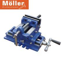 Möller MR60431 100 mm öntöttvas gépi satu, munkadarabok biztonságos rögzítésére