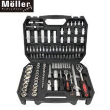 Möller MR70597 120 részes racsnis dugókulcs készlet