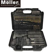 Möller MR70748 246 részes fúrófej és Bit készlet