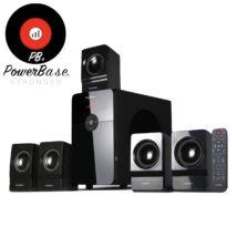 PowerBase PB/MS-7001 5.1 multimédiás bluetooth sub-woofer hangszóró távirányítóval