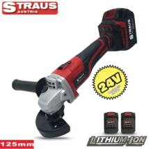 Straus ST/CAG-0025 Lithium-Ion akkus 24V sarokcsiszoló 125mm