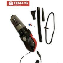 Straus ST/CCP-3IN1 porszívó, légkompresszor, LED munka világítás 150PSI 3 fejjel + 3 kiegészítők 3az1-ben
