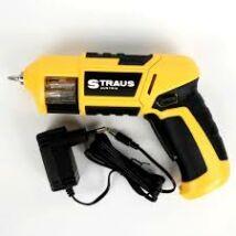 Straus ST/CSD-049 akkus pisztoly csavarhúzógép 7,2V