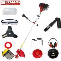 Straus ST/GT3800G-012 benzinmotoros fűkasza és bozótvágó kiegészítőkkel 5,2LE, 52cc