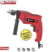 Straus ST/ID13-371 710 W, 13 mm ütvefúrógép