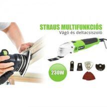 Straus ST/MF-CS2301 multifunkciós vágó és deltacsiszoló