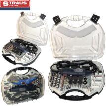 Straus ST/MG-217 217 részes mini csiszoló készlet kofferben