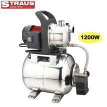 Straus ST/PWP1200M-124 inox házi vízmű 1.200W