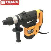 Straus ST/RH40-1601 fúrókalapács 1.600W SDS 30mm szabályozható fordulatszámmal, fúró, ütvefúró véső funkciók