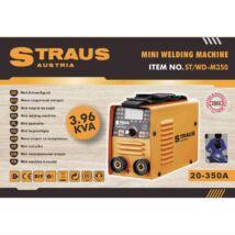 Straus ST/WD-M350 350A digitális kijelzős inverteres hegesztő