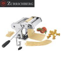 Zürrichberg ZBP7010 2 funkciós tésztakészítő gép, 9 különböző vastagsági fokozattal, szinte bármely tészta elkészíthető vele
