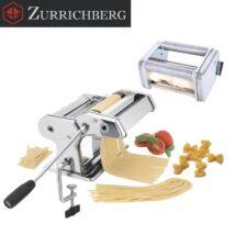 Zürrichberg ZBP7011 3 funkciós tésztakészítő és tésztavágó gép,9 különböző vastagsági fokozattal, szinte bármely tészta elkészíthető vele