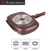 Zürrichberg ZBP7103 32cm márvány bevonatú kétoldalú grillsütő