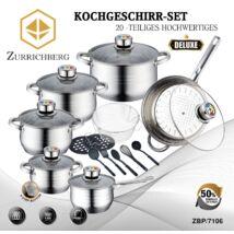 Zürrichberg ZBP7106  20 részes főzőedény készlet