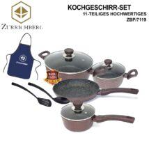 Zürrichberg ZBP7119 11 részes márvány bevonatú edénykészlet