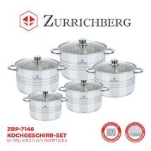 Zürrichberg ZBP7146 10 részes főzőedény készlet