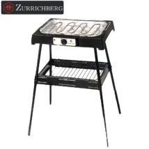 Zürrichberg ZBP7614 2.000W állványos elektromos grill és barbecue sütő, beltéri használatra