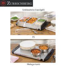 Zürrichberg ZBP7624 4 részes, 400W svédasztalos kiszolgáló és melegentartó