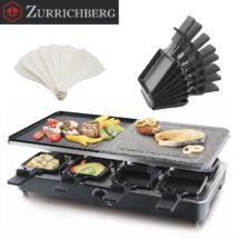 Zürrichberg ZBP7627 raclette, grillező gránit kő és alumínium sütőfelületel 1.500W