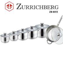 Zürrichberg ZBP8013 12 részes prémium rozsdamentes edénykészlet
