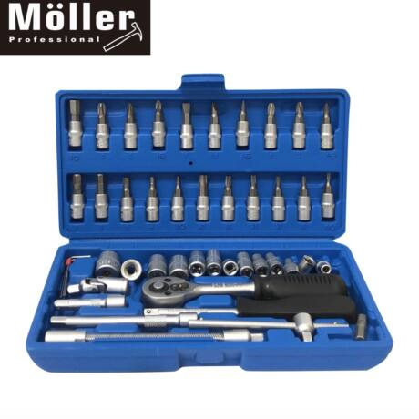 Möller MR70251 Krova 46 részes dugókulcs készlet