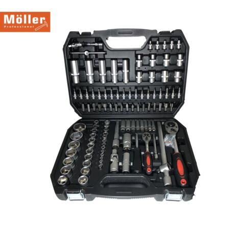 Möller MR70678 150 részes racsnis dugókulcs készlet