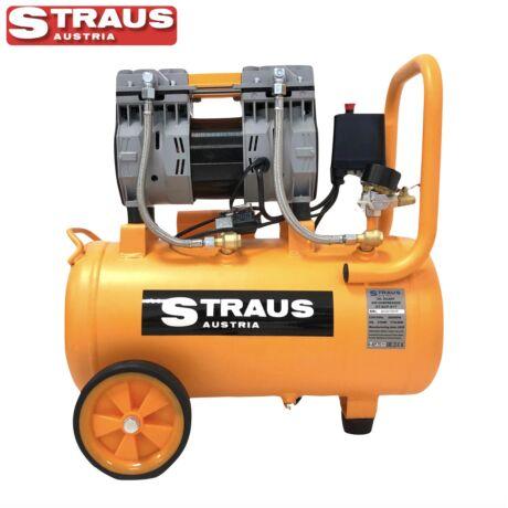 Straus ST/ACP-017 30L olajmentes, csendes légkompresszor