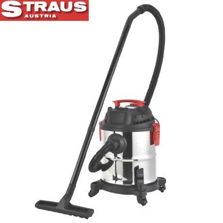 Straus ST/EVC1800-008 száraz-nedves fém porszívó 1.800W 20 L
