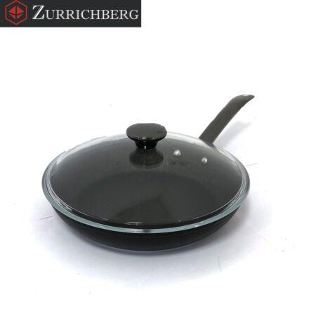Zürrichberg ZBP2006 28cm kovácsolt alumínium serpenyő fedővel