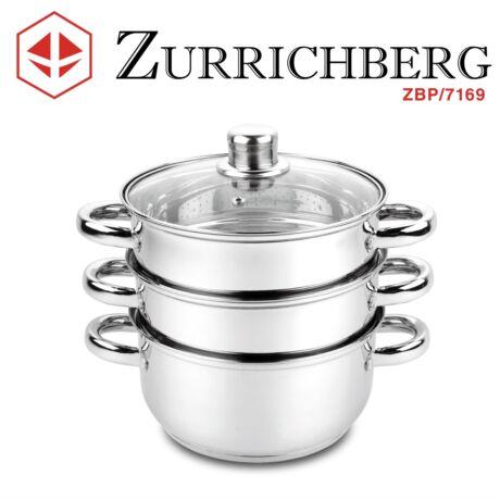 Zürrichberg ZBP7169 4 részes rozsdamentes pároló edény szett