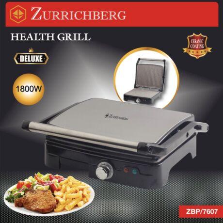 Zürrichberg ZBP7607 1.800W dupla kétoldalas elektromos grill és panini sütő
