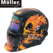 Möller MR70809 automatikusan sötétedő hegesztőpajzs