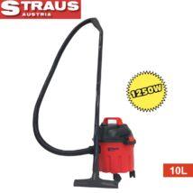 Straus ST/EVC1250-006 száraz-nedves műanyag porszívó 1250W 10L
