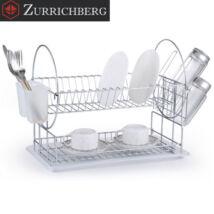 Zürrichberg ZBP2091 2 szintes krómozott edényszárító evőeszköz és pohártartóval