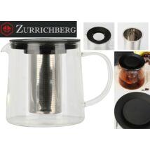 Zürrichberg ZBP2110 1L üveg teafőző szűrővel