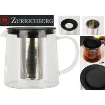 Zürrichberg ZBP2111 1,5L üveg teafőző szűrővel
