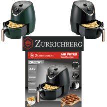 Zürrichberg ZBP2702 olaj nélküli fritőz 3,5L 1.500W