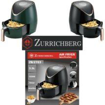 Zürrichberg ZBP2703 digitáli olaj nélküli fritőz 3,5L 1.500W