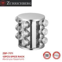 Zürrichberg ZBP7171 12 részes állványos fűszertartó