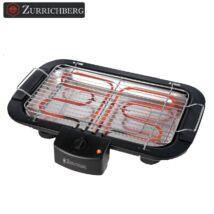 Zürrichberg ZBP7613 2.000W elektromos grill és barbecue sütő, beltéri használatra