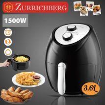 Zürrichberg ZBP7616 olaj nélküli fritőz 3,6L 1.500W