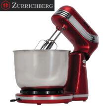 Zürrichberg ZBP7645 piros 3L konyhai dagasztógép 500W, 6 sebességgel és 2 fejjel