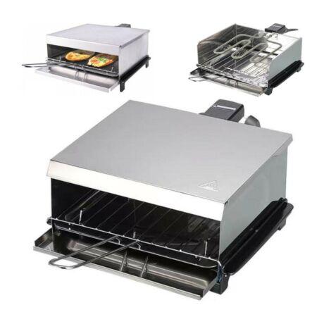 Stahlman ST800 retro kenyérpirító, melegszendvics sütő 800W