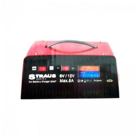 Straus ST/CB-19M 12V 8A akkumulátor töltő