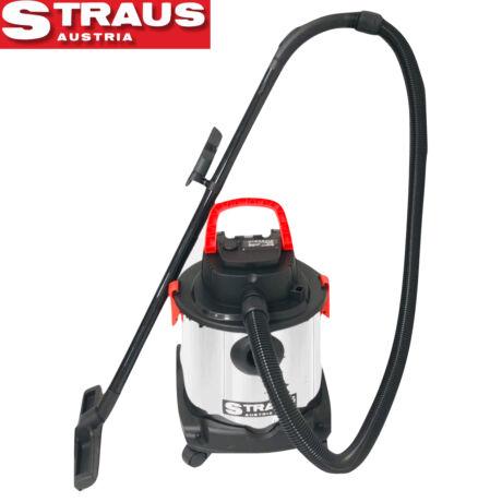 Straus ST/CVC-200 akkus száraz-nedves porszívó 24V, 20 L