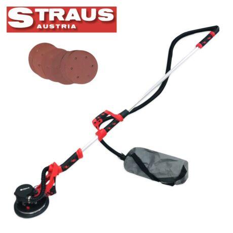 Straus ST/WS1250-002 1.250W száraz falcsiszoló csiszolópapírokkal