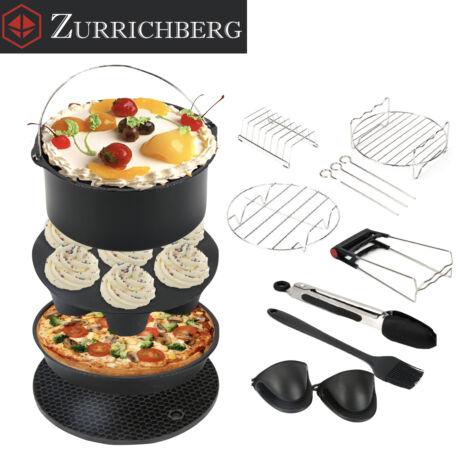 Zürrichberg ZBP2106 12 részes olaj nélküli fritőz kiegészítő tartozék szett