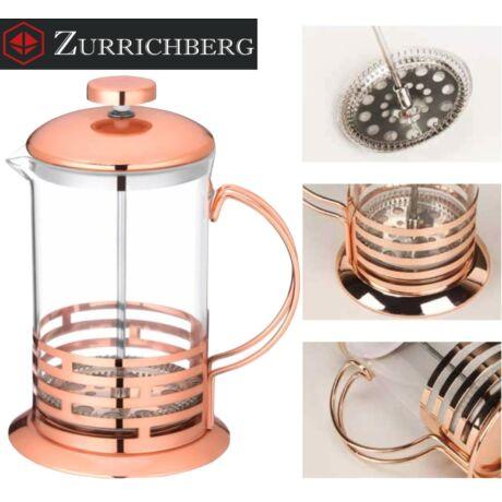 Zürrichberg ZBP2114 1L French Press dugattyús kávé és teafőző